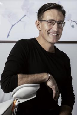 portrait corporate d'un docteur en orthodontie